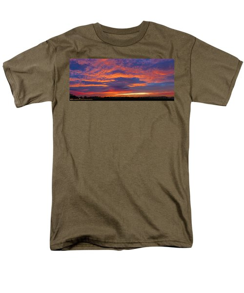 Pana 53rd Ave Sunrise Men's T-Shirt  (Regular Fit) by Kimo Fernandez