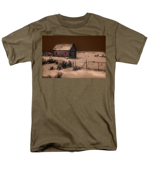 Panguitch Homestead Men's T-Shirt  (Regular Fit) by William Fields