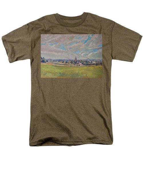Panorama Maastricht Men's T-Shirt  (Regular Fit) by Nop Briex