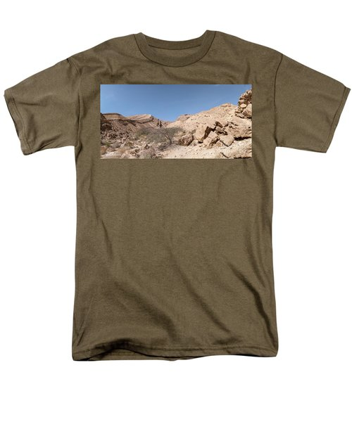 Panorama On Genesis Land 03 Men's T-Shirt  (Regular Fit) by Arik Baltinester