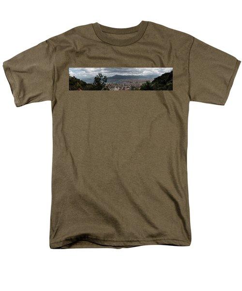 Panorama Palermo Men's T-Shirt  (Regular Fit) by Patrick Boening