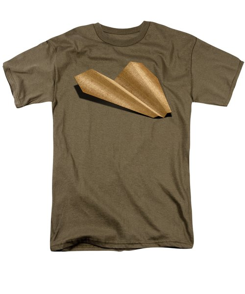 Paper Airplanes Of Wood 6 Men's T-Shirt  (Regular Fit) by YoPedro