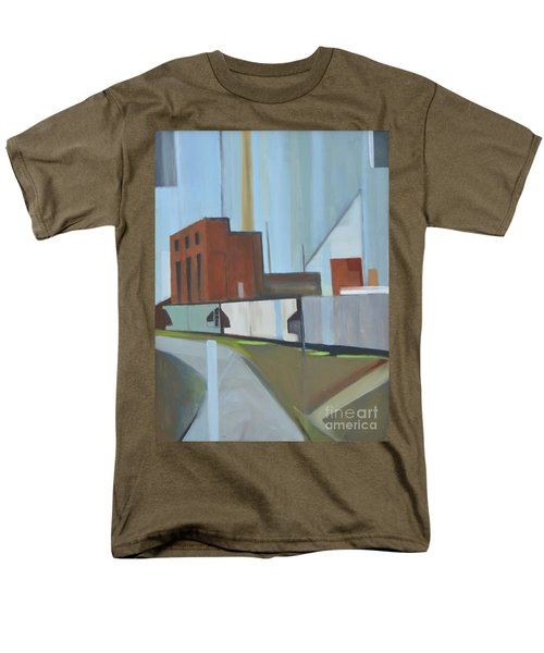 Paperboard Factory Bogota Nj Men's T-Shirt  (Regular Fit) by Ron Erickson
