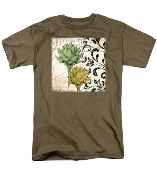 Paris Artichokes Men's T-Shirt  (Regular Fit) by Mindy Sommers