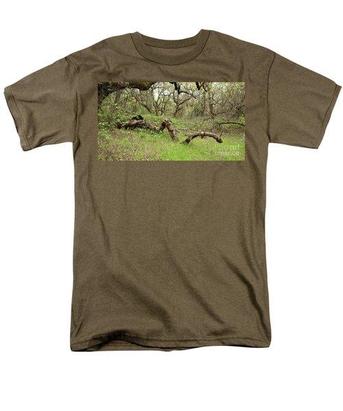 Park Serpent Men's T-Shirt  (Regular Fit) by Carol Lynn Coronios