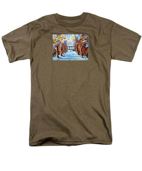 Park Zrinjevac Men's T-Shirt  (Regular Fit) by Jasna Dragun