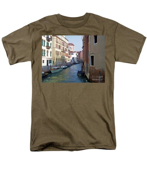 Men's T-Shirt  (Regular Fit) featuring the photograph Parked In Venice by Roberta Byram
