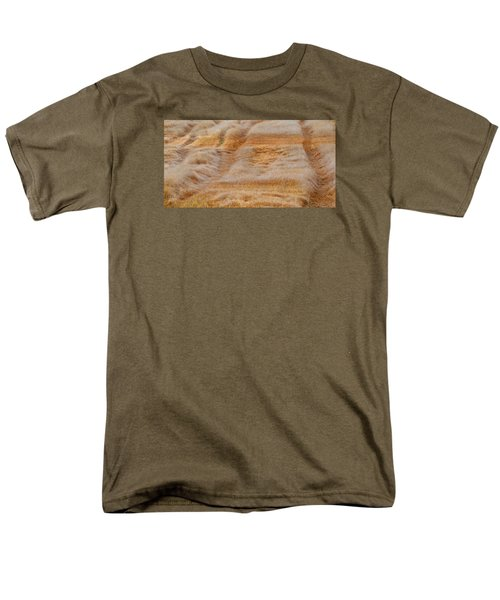 Men's T-Shirt  (Regular Fit) featuring the photograph Part Of The Field 2  by Lyle Crump