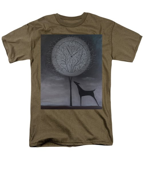 Men's T-Shirt  (Regular Fit) featuring the painting Passing Time by Tone Aanderaa