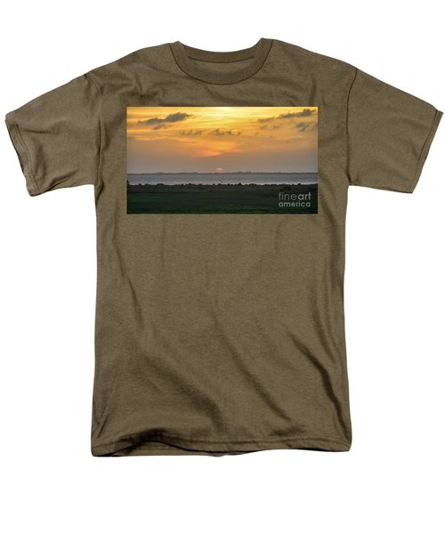 Men's T-Shirt  (Regular Fit) featuring the photograph Pastel Sky by Debra Martz