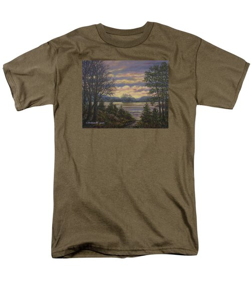 Path To The River Men's T-Shirt  (Regular Fit) by Kathleen McDermott