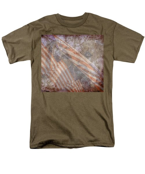 Patriotic Lab Men's T-Shirt  (Regular Fit) by Mary Ward