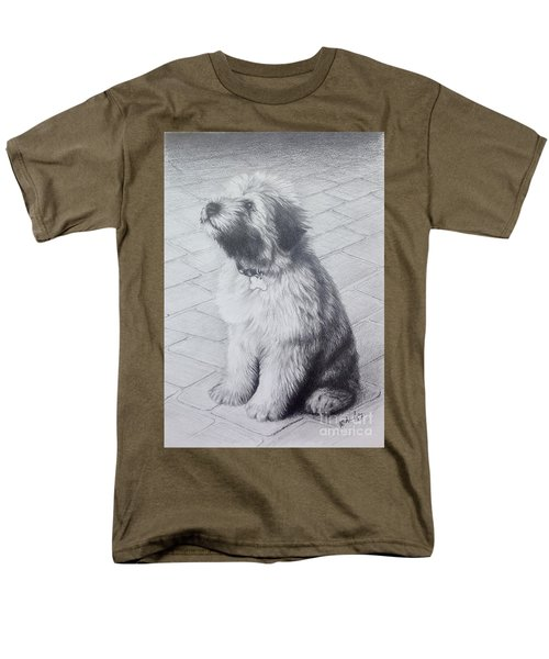 Patsy's Puppy Men's T-Shirt  (Regular Fit) by Mike Ivey