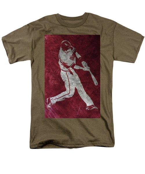 Paul Goldschmidt Arizona Diamondbacks Art Men's T-Shirt  (Regular Fit) by Joe Hamilton