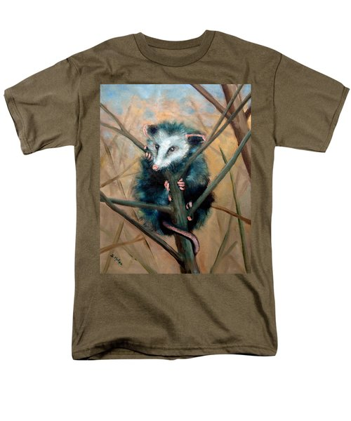 Men's T-Shirt  (Regular Fit) featuring the painting Paulie Chose Poorly by Suzanne McKee