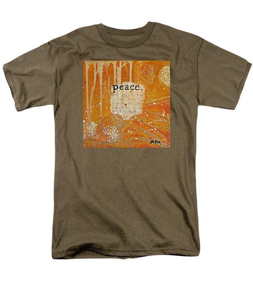 Peace Men's T-Shirt  (Regular Fit)