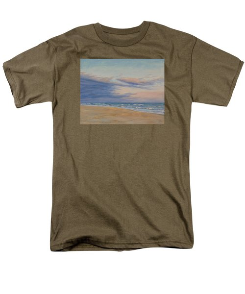 Men's T-Shirt  (Regular Fit) featuring the painting Peaceful by Joe Bergholm