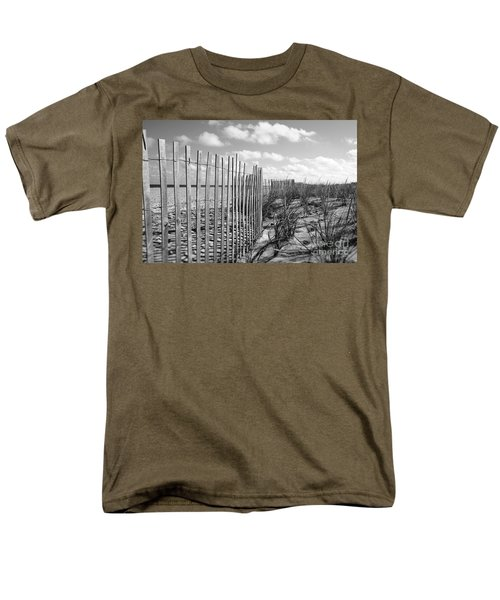 Men's T-Shirt  (Regular Fit) featuring the photograph Peaceful Beach Scene by Denise Pohl