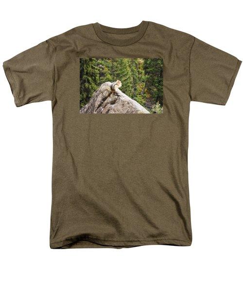 Men's T-Shirt  (Regular Fit) featuring the photograph Peaceful Enjoyment by Janie Johnson