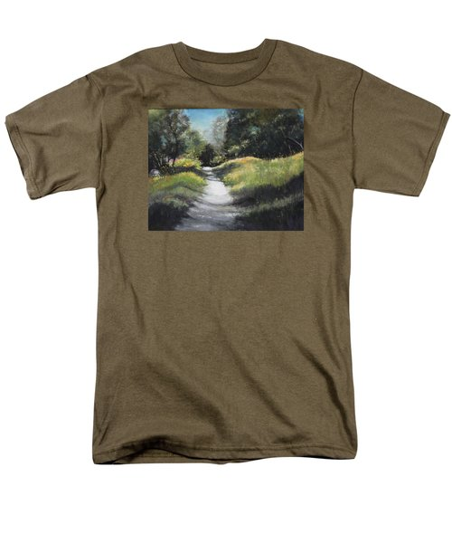 Peaceful Walk In The Foothills Men's T-Shirt  (Regular Fit)