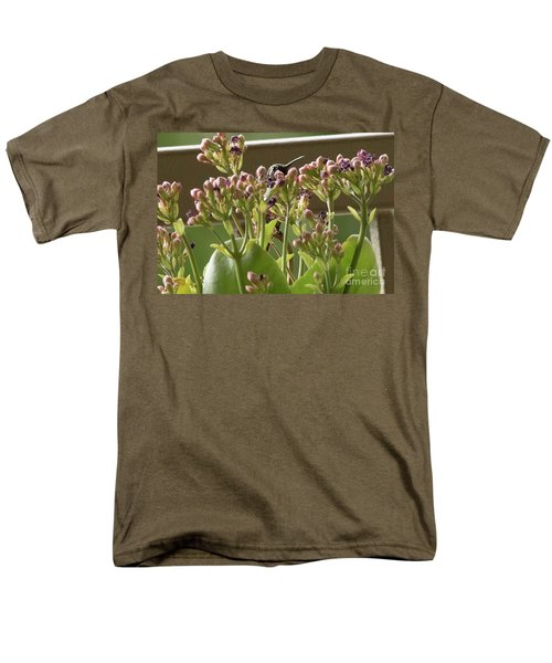 Men's T-Shirt  (Regular Fit) featuring the photograph Peek A Boo by Anne Rodkin