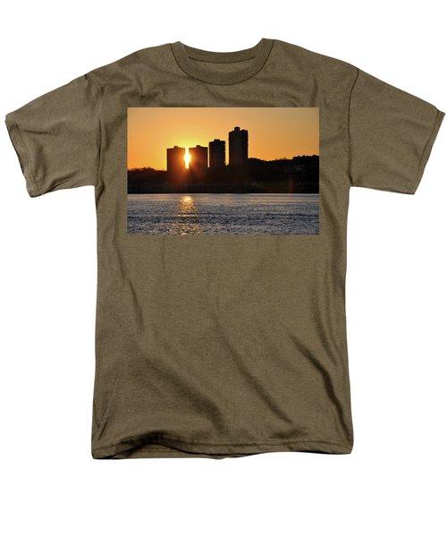 Peekaboo Sunset Men's T-Shirt  (Regular Fit) by Sarah McKoy