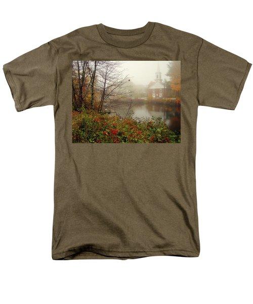 Foggy Glimpse Men's T-Shirt  (Regular Fit) by Betsy Zimmerli
