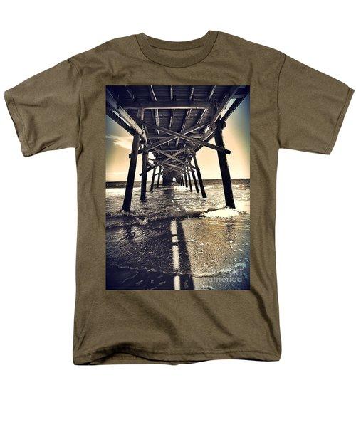 Peir View  Men's T-Shirt  (Regular Fit) by Christy Ricafrente