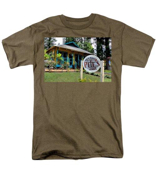 Pele's Lanai Style Men's T-Shirt  (Regular Fit) by DJ Florek
