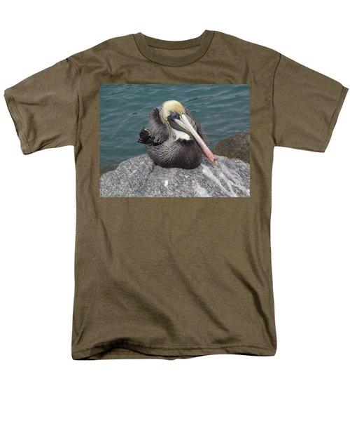 Men's T-Shirt  (Regular Fit) featuring the photograph Pelican by John Mathews