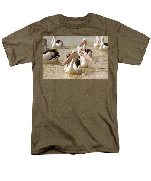 Pelicans Men's T-Shirt  (Regular Fit) by Craig Dingle