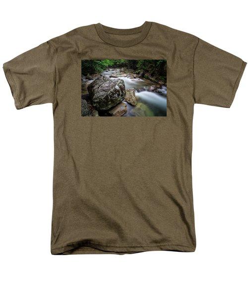 Pemi-basin Trail Men's T-Shirt  (Regular Fit) by Michael Hubley
