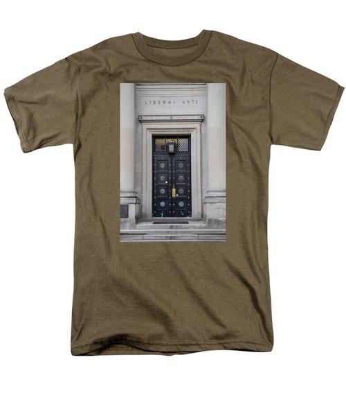 Penn State University Liberal Arts Door  Men's T-Shirt  (Regular Fit) by John McGraw
