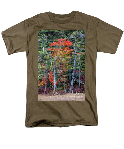 Pennsylvania Laurel Highlands Autumn Men's T-Shirt  (Regular Fit) by John Stephens