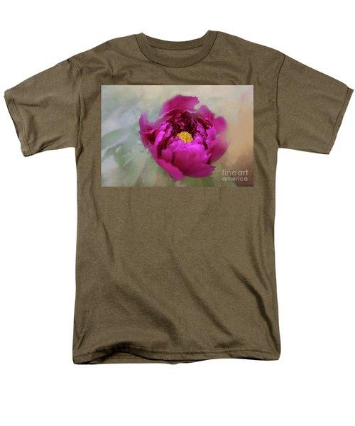 Peony Men's T-Shirt  (Regular Fit) by Eva Lechner