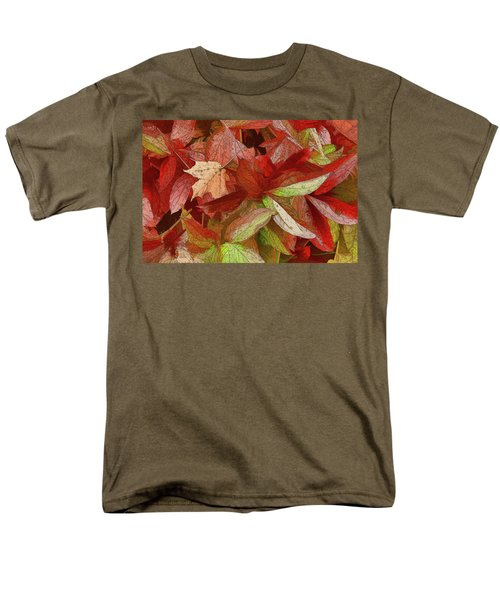 Peony Farewell Men's T-Shirt  (Regular Fit) by Betsy Zimmerli