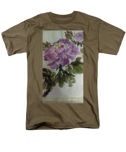 Peony20170126_1 Men's T-Shirt  (Regular Fit) by Dongling Sun