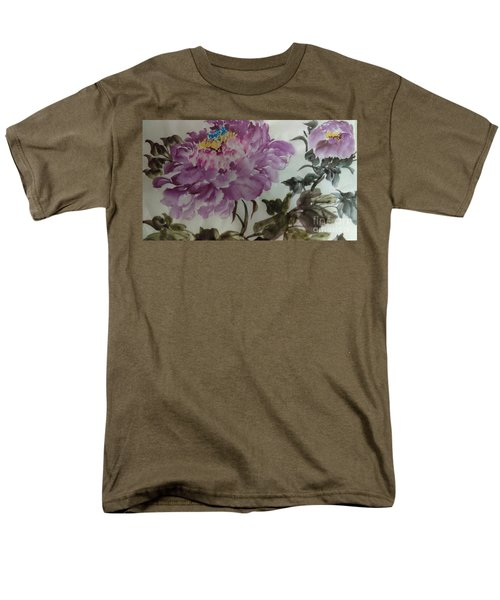 Peony20170213_1 Men's T-Shirt  (Regular Fit) by Dongling Sun