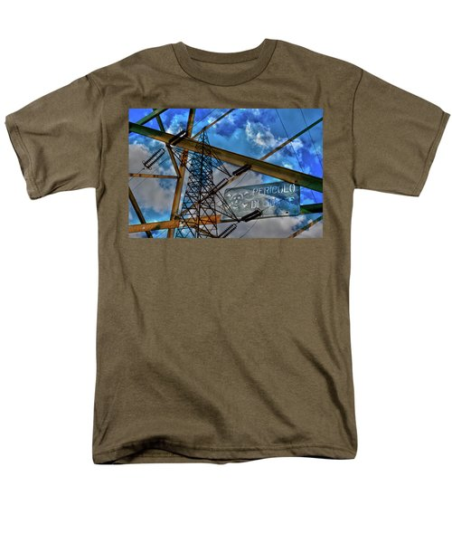 Men's T-Shirt  (Regular Fit) featuring the photograph Pericolo Di Morte by Sonny Marcyan