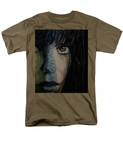 Men's T-Shirt  (Regular Fit) featuring the painting Periode Bleue by Paul Lovering