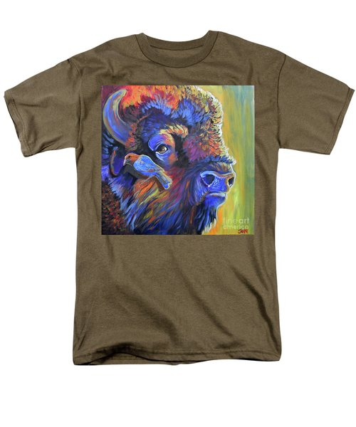 Pesky Cowbird Men's T-Shirt  (Regular Fit) by Jenn Cunningham