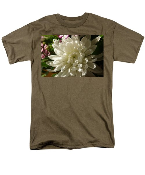 Petals Profusion Men's T-Shirt  (Regular Fit) by Cricket Hackmann