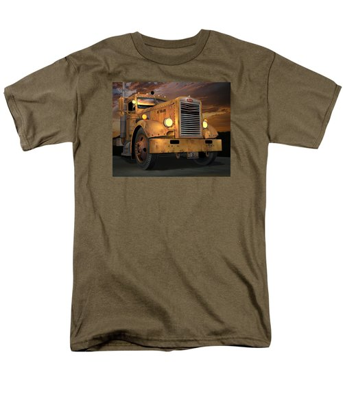 Peterbilt Ol Yeller Men's T-Shirt  (Regular Fit) by Stuart Swartz