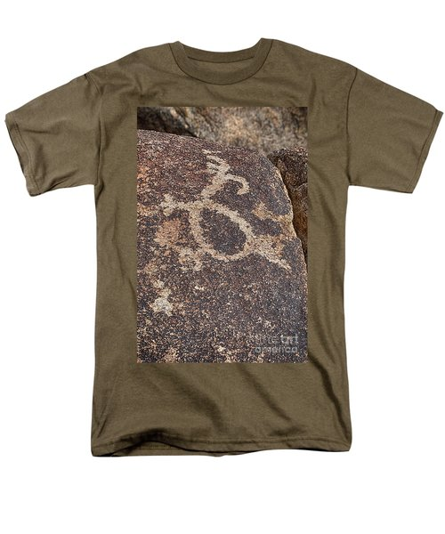 Petroglyph #2 Men's T-Shirt  (Regular Fit) by Anne Rodkin