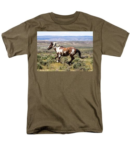 Picasso - Free As The Wind Men's T-Shirt  (Regular Fit) by Nadja Rider