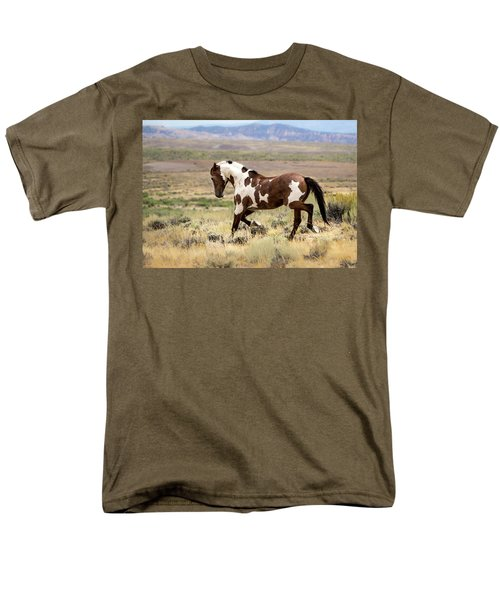 Picasso Strutting His Stuff Men's T-Shirt  (Regular Fit) by Nadja Rider