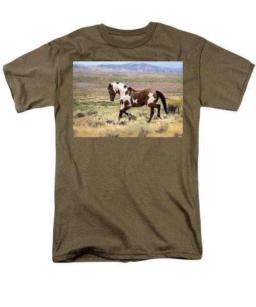 Picasso Strutting His Stuff Men's T-Shirt  (Regular Fit)