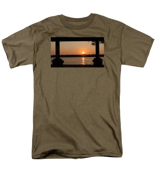 Men's T-Shirt  (Regular Fit) featuring the photograph Picture Perfect Sunset by Teresa Schomig