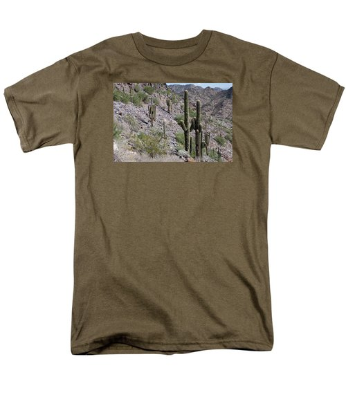 Men's T-Shirt  (Regular Fit) featuring the photograph Piestewa Peak II by Greg Graham