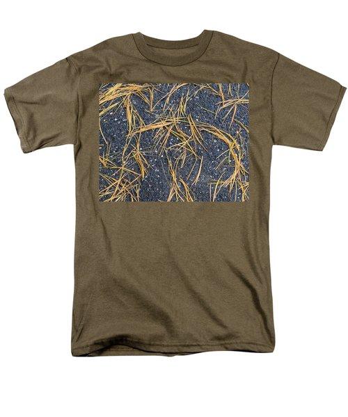 Men's T-Shirt  (Regular Fit) featuring the photograph Pine Needles by R  Allen Swezey